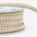 Beige Stephanoise 12mm Gimp Braid Trim Upholstery Soft Furnishings