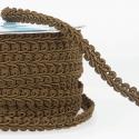 Dark Brown Stephanoise 12mm Gimp Braid Trim Upholstery Soft Furnishings