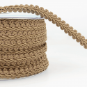 Brown Stephanoise 12mm Gimp Braid Trim Upholstery Soft Furnishings