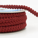 Burgundy Stephanoise 12mm Gimp Braid Trim Upholstery Soft Furnishings