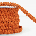 Orange Stephanoise 12mm Gimp Braid Trim Upholstery Soft Furnishings