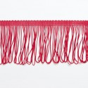 "Red Looped Dress Fringe Fringing 1"" to 12"" Trim Trimming"