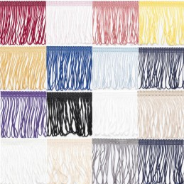 "7.5cm 3"" Looped Dress Fringe Fringing Trim Trimming"