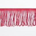 "Red Looped Dress Fringe Fringing 1"" to 12"" Trim Trimming"
