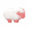 ABC Buttons 1 x 18mm Fluffy Sheep Button Nylon Shank 28 Lignes