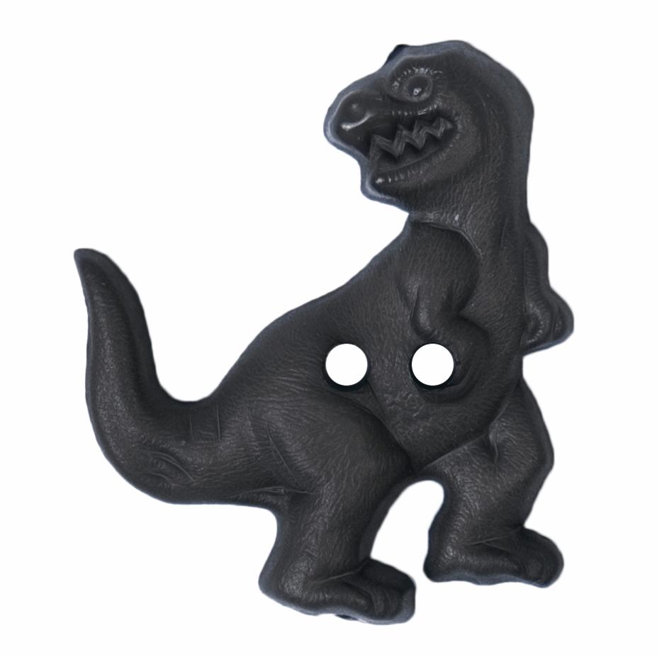 ABC Buttons 30mm T-Rex Dinosaur Button Nylon 2 Hole 48 Lignes