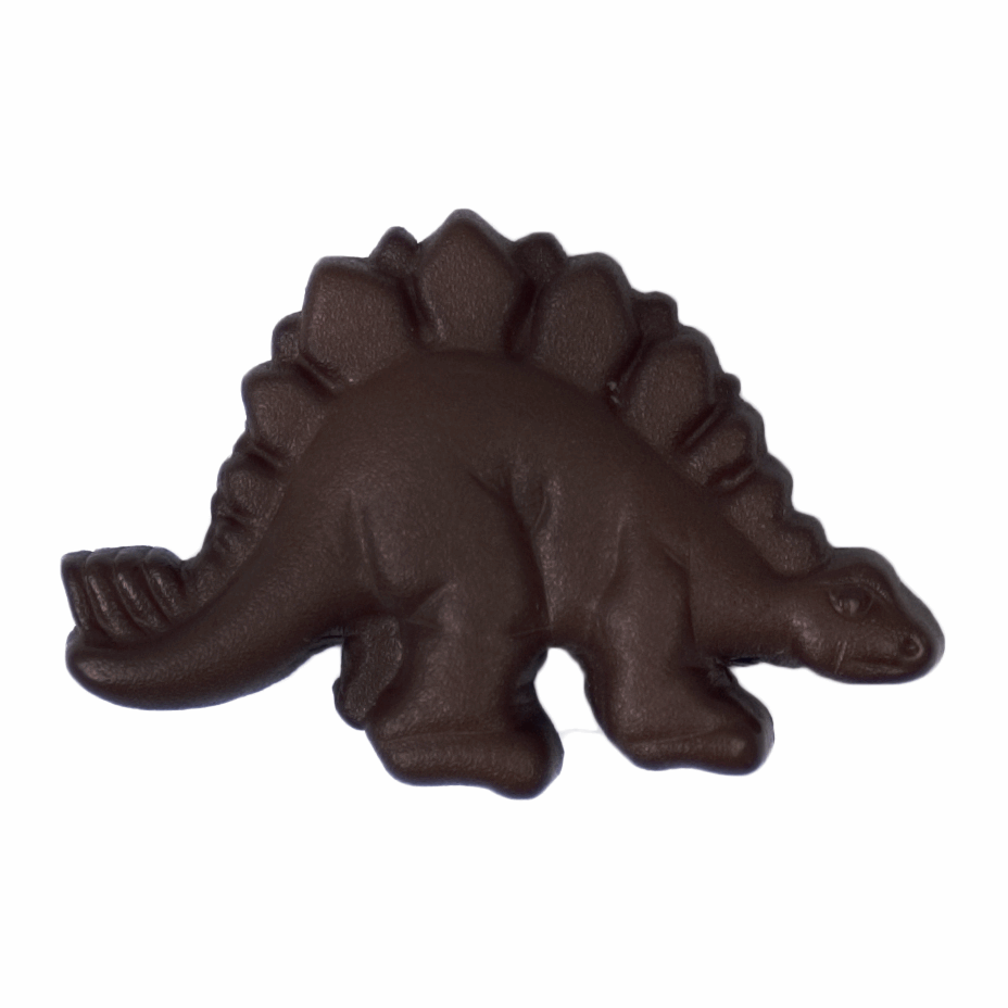ABC Buttons 28mm Stegosaurus Dinosaur Button Nylon Shank 44 Lignes