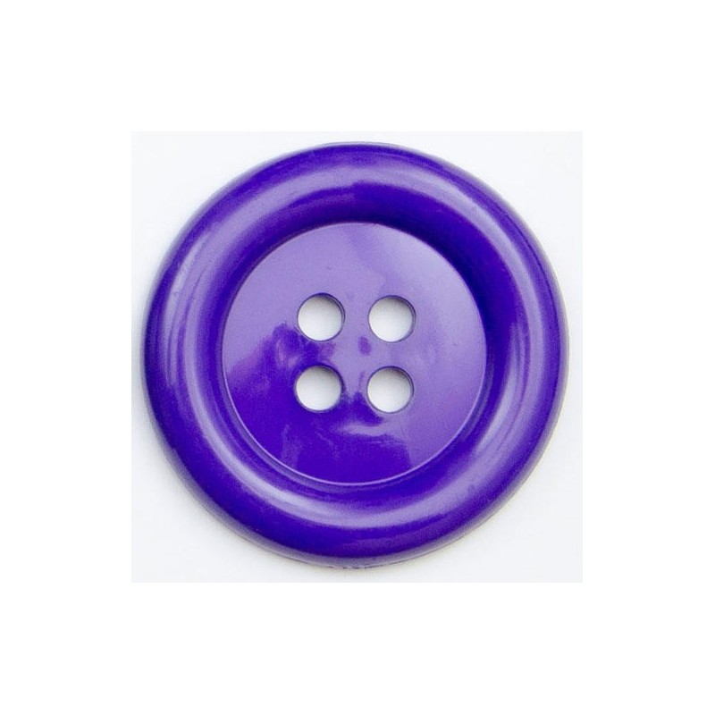 Purple 1 x Big Clown Button Plastic Coat Jacket Fancy Dress 38mm or 51mm