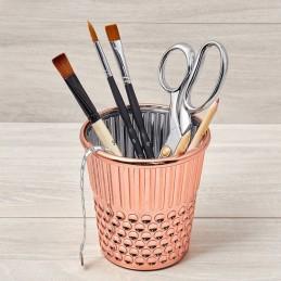 Hemline Thimble Novelty Desk Organiser Craft Sewing & Crafting Storage Container