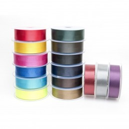 Shiny Herringbone Tape 40mm Poly Twill Tape For Bunting, Aprons, Bags,