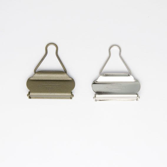 Silver 40mm Bib and Brace Dungaree Fasteners Clips Buckles