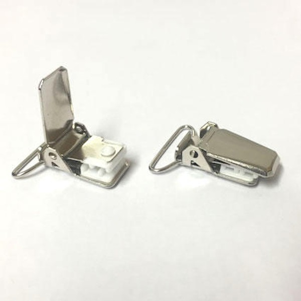 1 x 30mm Brace End Clips Overalls Dungarees Bib and Brace Suspenders