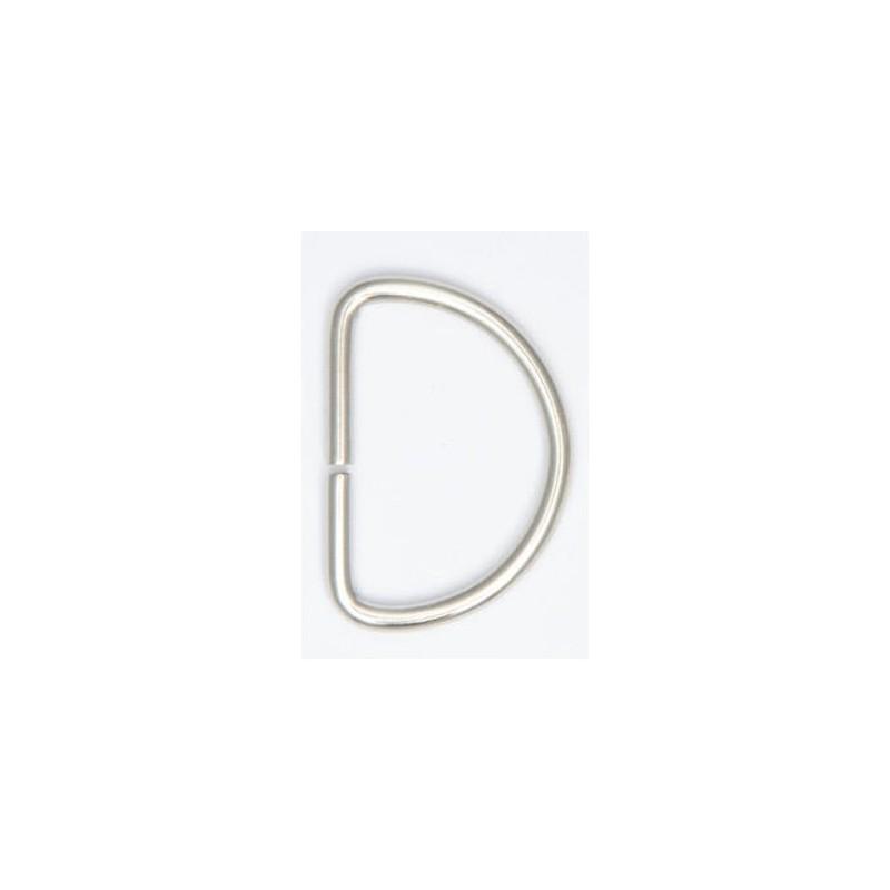 Silver D Rings Brass Buckles Fastening Webbing, Handbag, & Leather Craft