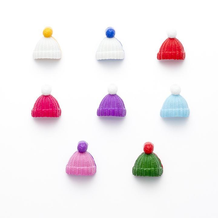 Bobble Hat 18mm Button Size...