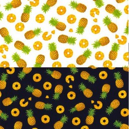 100% Cotton Poplin Fabric Rose & Hubble 3mm Spots Polka Dots