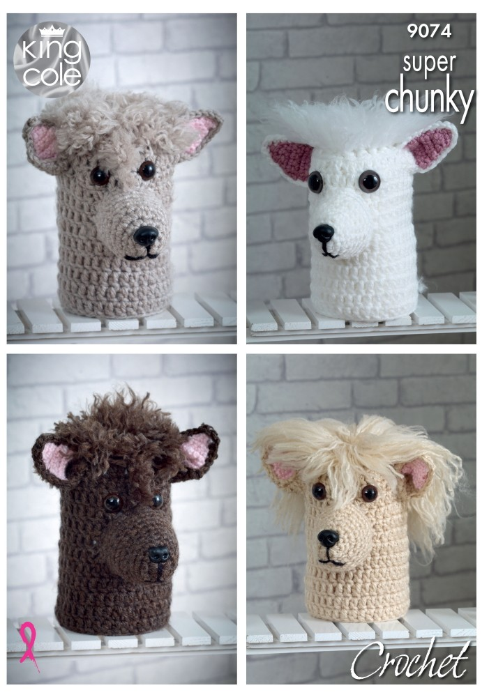 King Cole Crochet Pattern...