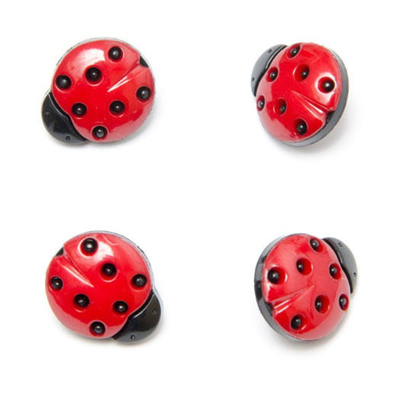 Ladybirds Ladybugs Button...