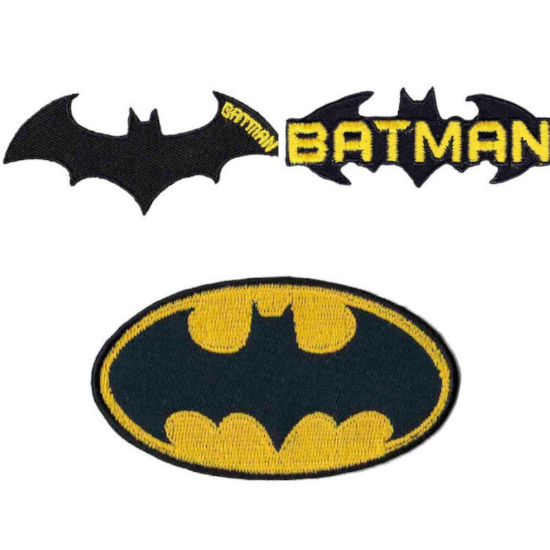 Batman Logo Iron On Motif...