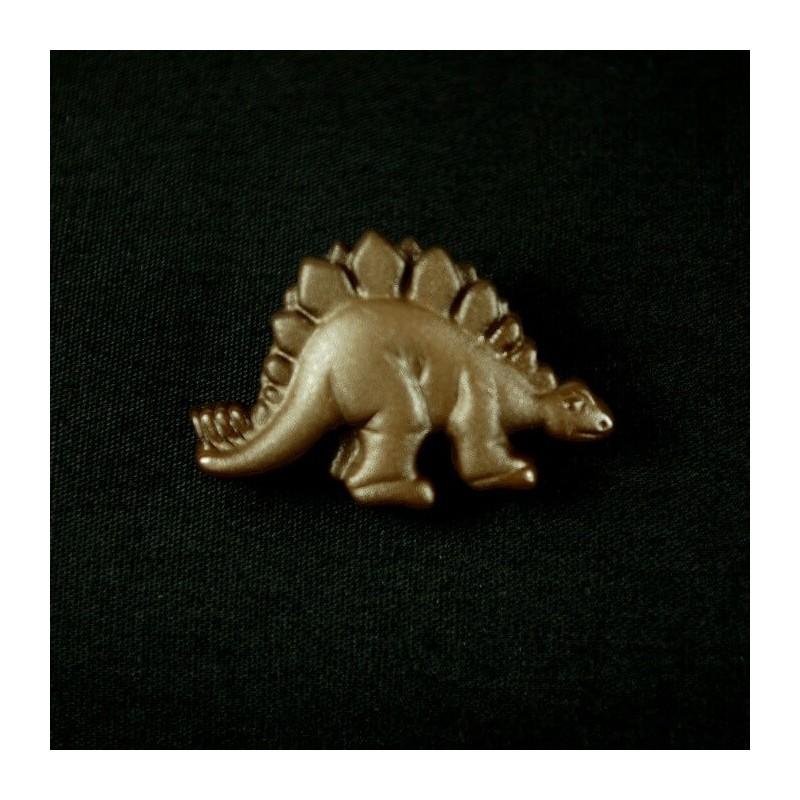 30mm Stegosaurus Acrylic Plastic Buttons