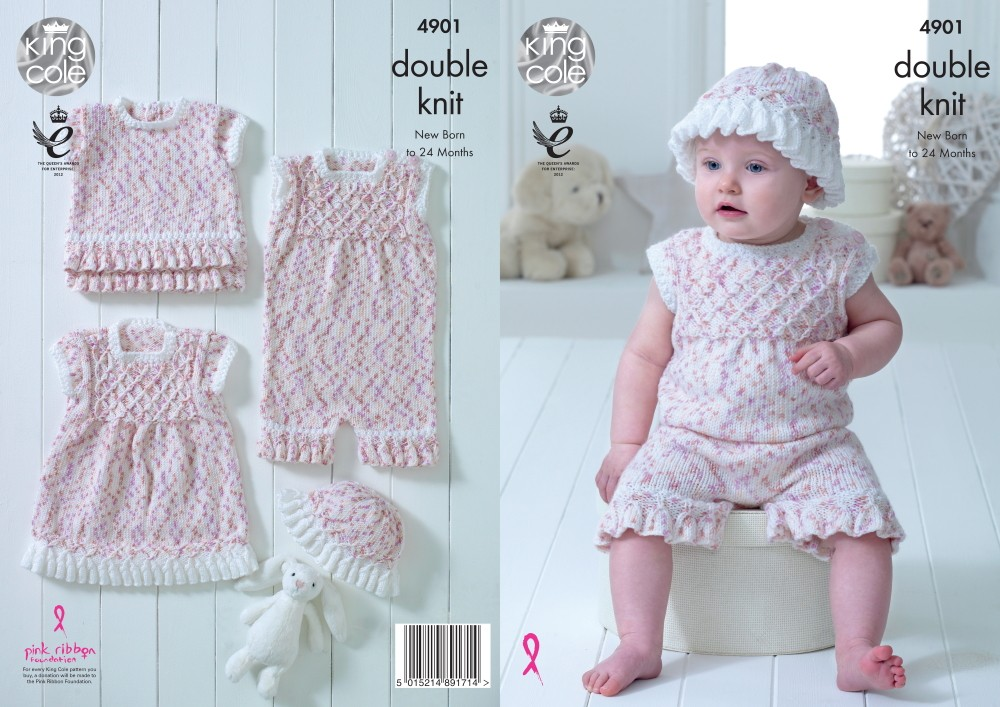 King Cole Knitting Pattern...