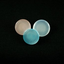 Candy Style Metallic 14mm Acrylic Plastic Buttons