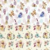 100% Cotton Digital Fabric Disney Winnie The Pooh & Friends Tigger Piglet Eeyore