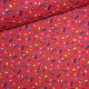 100% Brushed Cotton Fabric R.E.D. Textiles Tiny Vehicles Car Bus Train Helicopter
