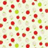 100% Cotton Fabric Nutex Country Lane Cow, Sheep Farm Chickens