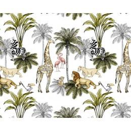 100% Cotton Digital Fabric Disney Lion King & Friends 150cm Wide