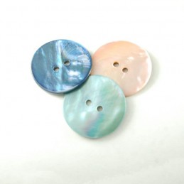24mm Sea Shell Buttons In 3 Colours