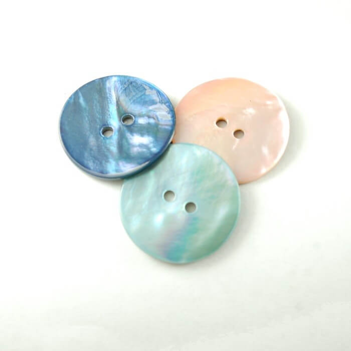 24mm Sea Shell Buttons In 3...