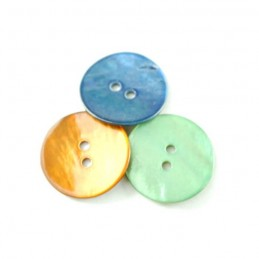 18mm Sea Shell Buttons In 3 Colours