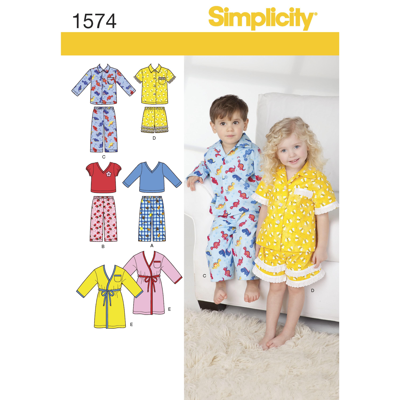 Toddlers' Loungewear Fabric...