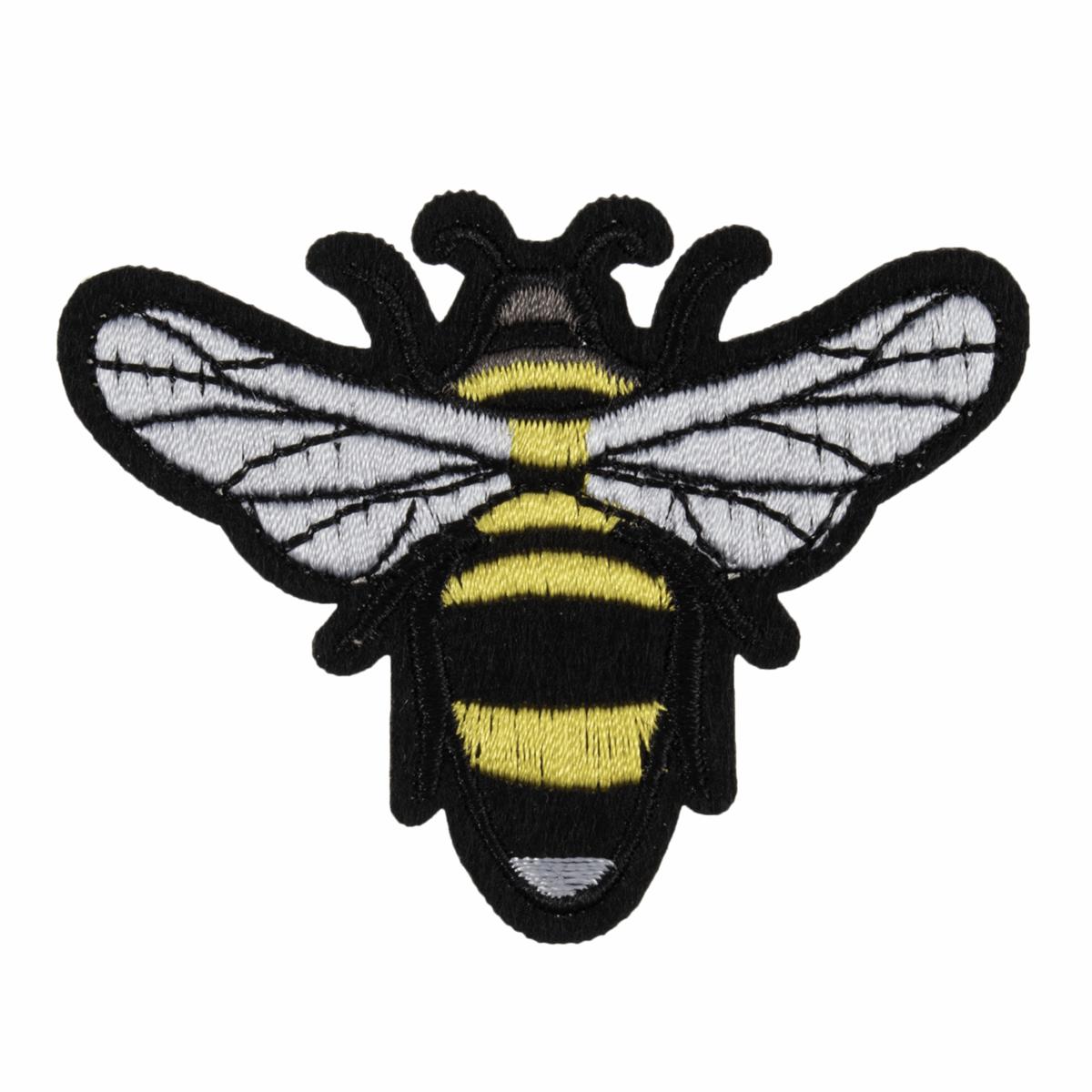 Iron On Motif Bumble Bee...
