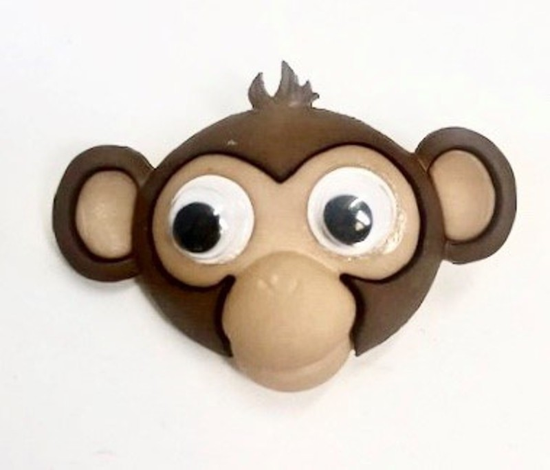 Googly Wobbly Eyes Monkey...