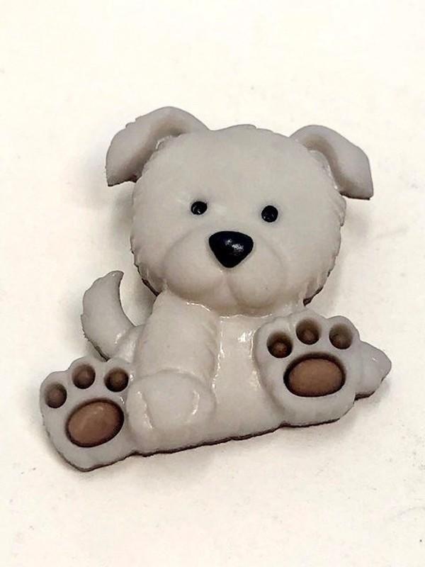 Fluffy Dog Puppy Paws...