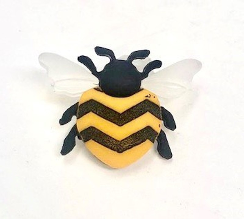 Buzzing Bumble Bee Insect...