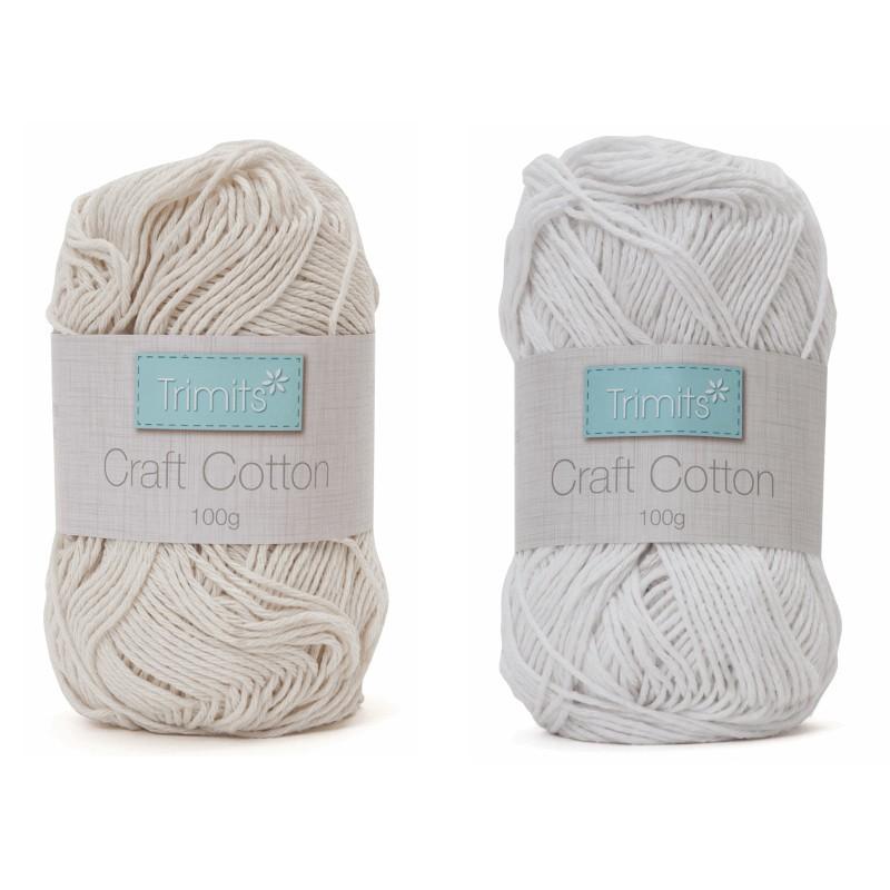 Trimits 100g Cotton Yarn...