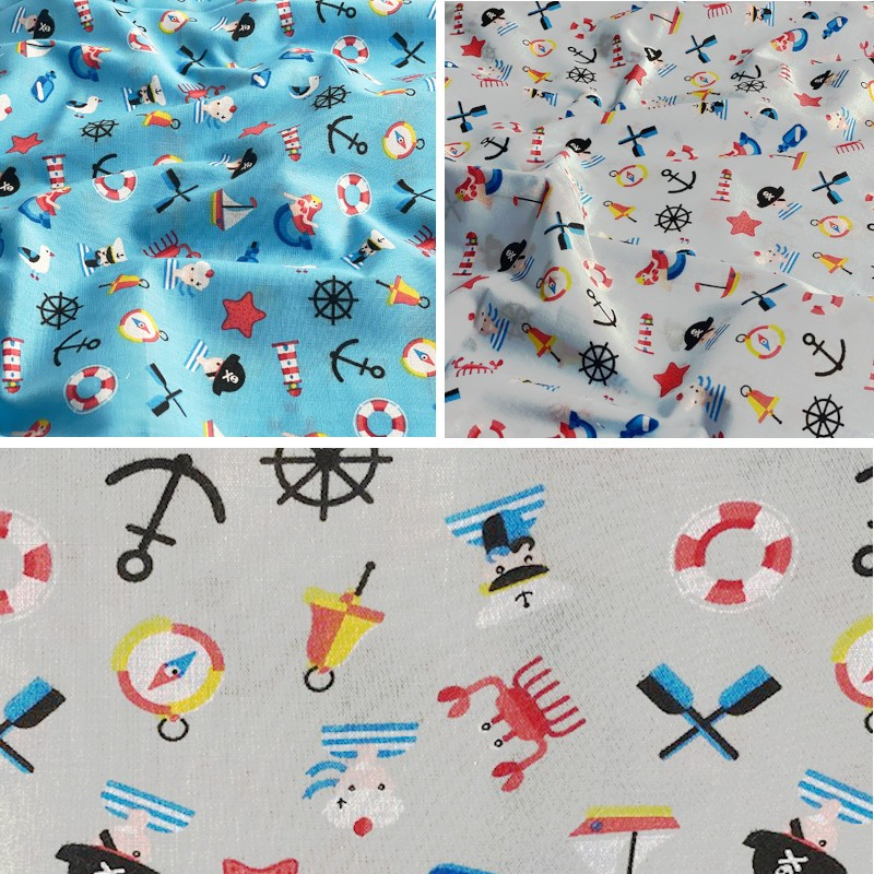 Polycotton Fabric Pirate...