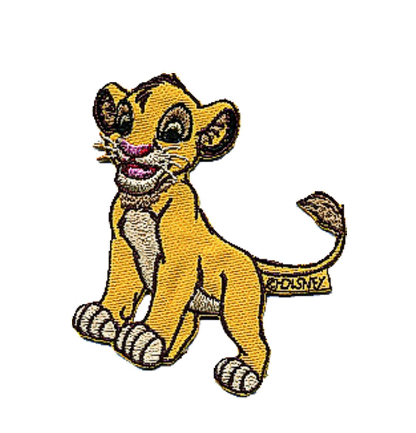 Iron On Motif Lion King...