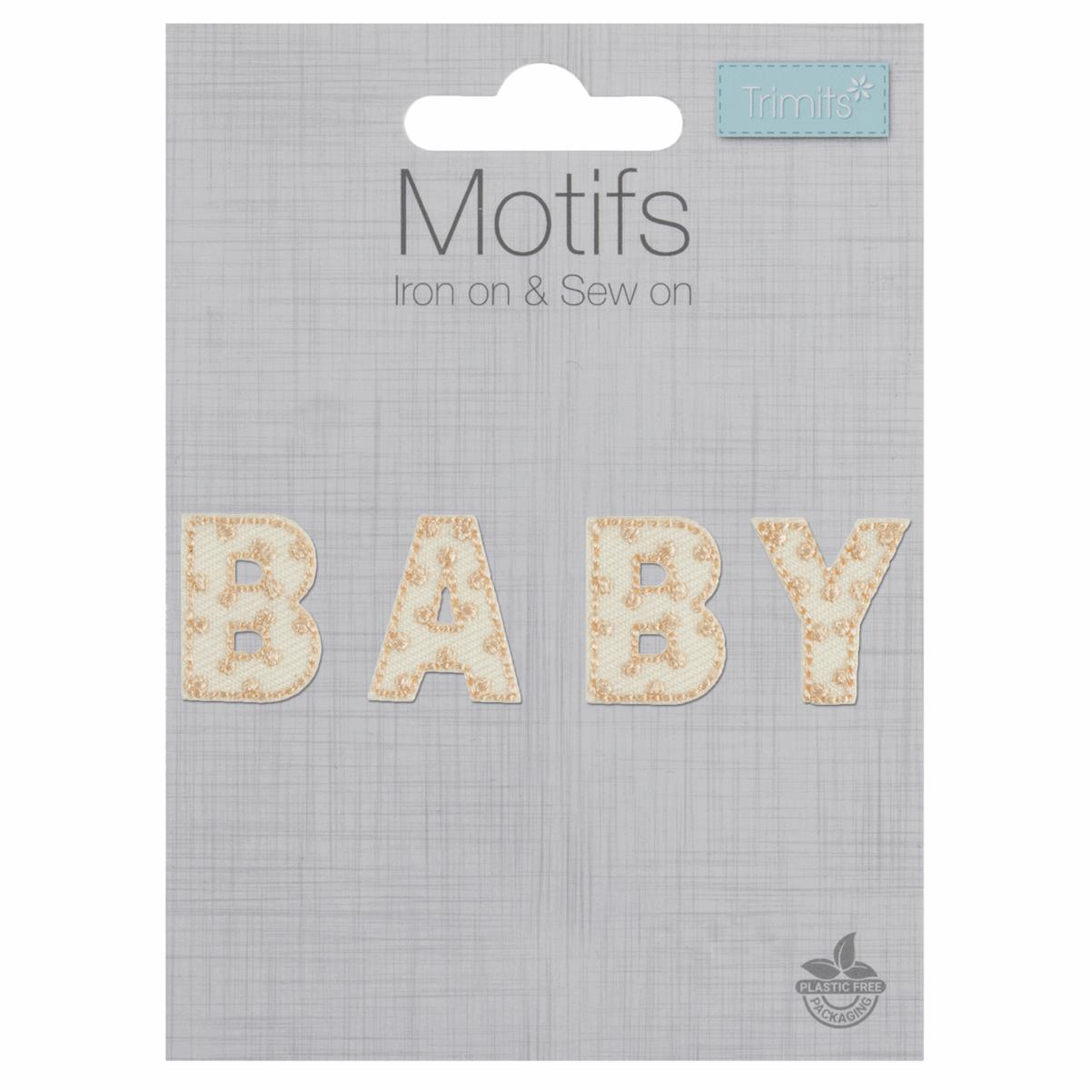 Trimits Iron On Motif Baby...