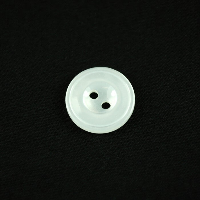 Metallic White Ridged 17mm...