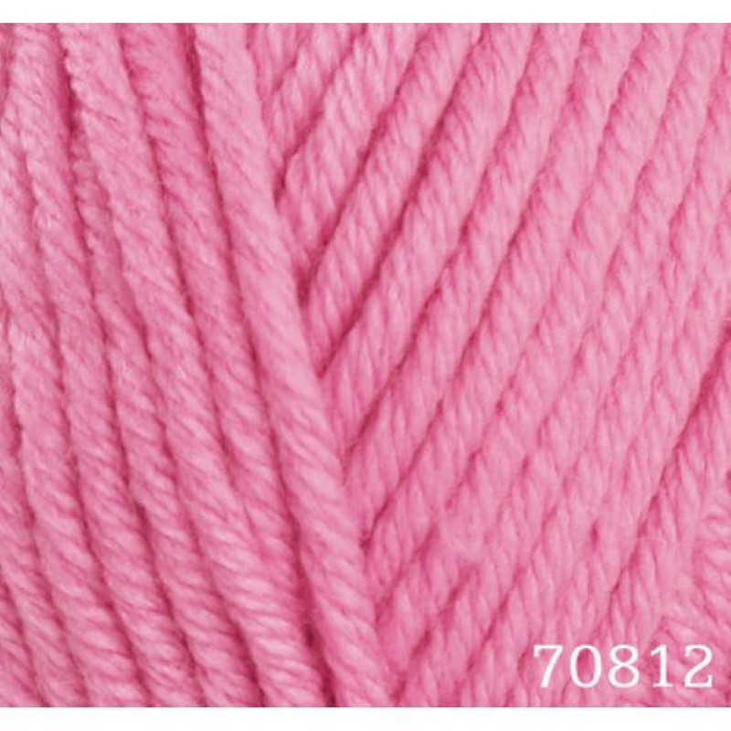 Himalaya 100g Everyday Big Wool Yarn Knitting Anti-Pilling Acrylic Super Chunky Pink 70812