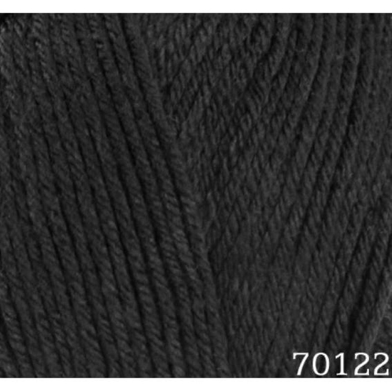 Himalaya 100g Everyday Bebe DK Wool Yarn Knitting Anti-Pilling Acrylic Black 70122