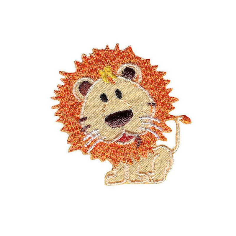 Iron On Motif Bright Lion...