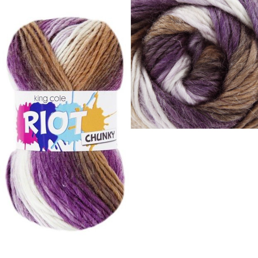 SALE King Cole Riot Chunky...
