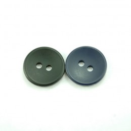 Matte Dish 15mm Acrylic Plastic Buttons