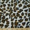 Leopard Print Fleece Anti Pil Fabric