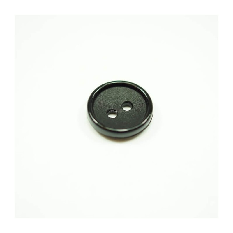 30 x Tiny Metallic Dish 10mm Acrylic Plastic Craft Buttons
