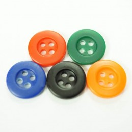 Mini Classic Style 13mm Acrylic Plastic Buttons